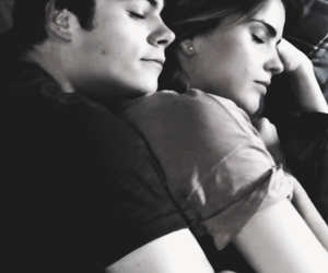 couple, teen wolf, and love image