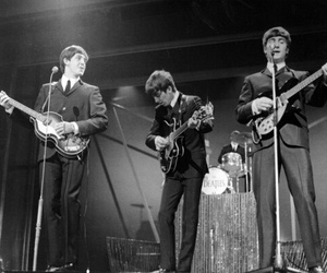 music, old school, and the beatles image