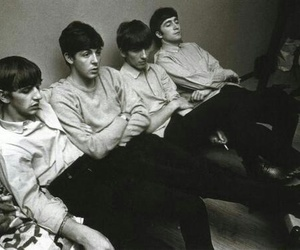 the beatles, ringo starr, and george harrison image