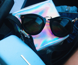sunglasses, fashion, and hipster image