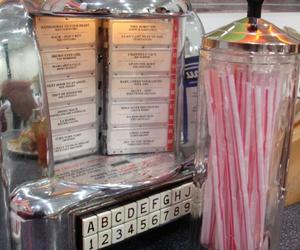diner, jukebox, and music image