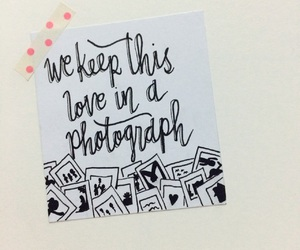 photograph and love image