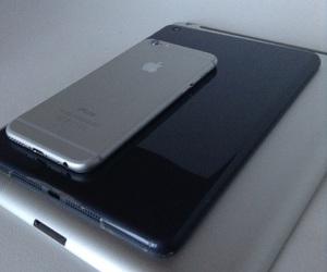 black, iphone, and ipad image
