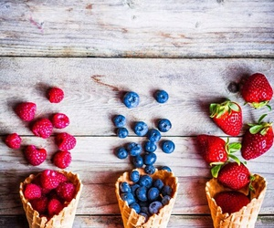 cone, FRUiTS, and healthy image