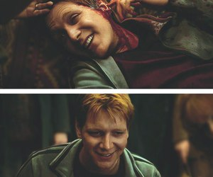 harry potter, fred and george weasley, and hermione granger image