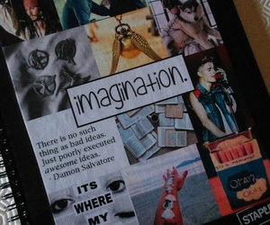 diy, imagination, and notebook image