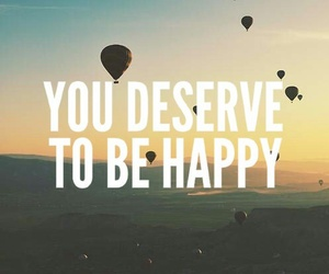 happy, wallpaper, and quotes image