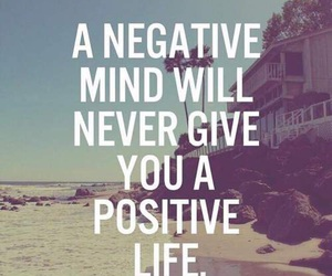 life, positive, and quote image
