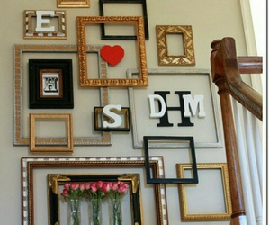 decoration, frame, and picture image