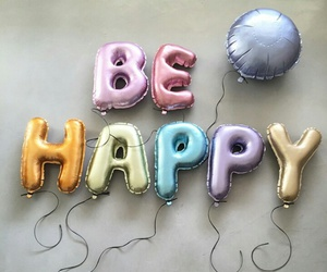 awesome, balloon, and be happy image
