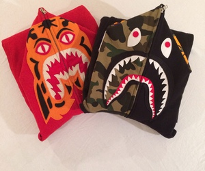 bape, clothing, and dope image