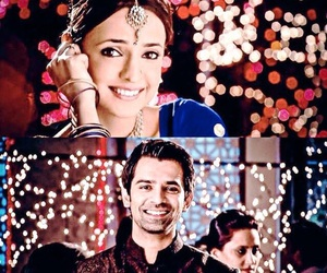 bollywood, fairy lights, and khushi image
