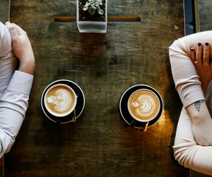 coffee and couple image