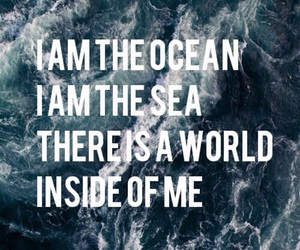 ocean, sea, and world image
