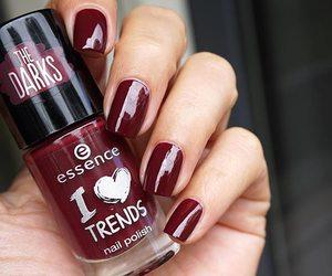 essence, nail polish, and nails image