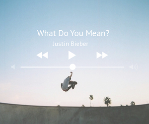 music, skateboard, and what do you mean image