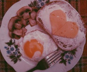 cheese, love, and egg image