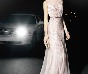 dress, party dress, and wedding dress image