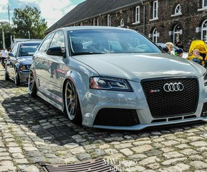 A3, audi, and low image