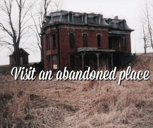 abandoned, creepy, and ghosts image