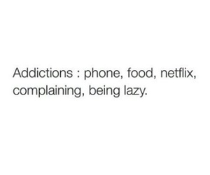 addiction, food, and funny image