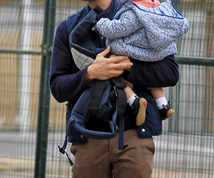 Jamie Dornan, baby, and christian grey image