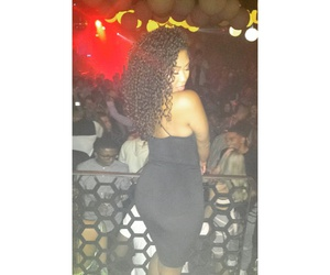 black, Chick, and curly image