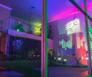 neon, aesthetic, and grunge image