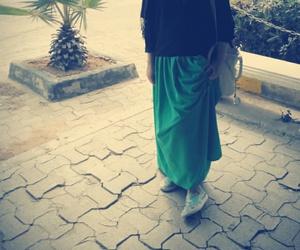 girls, university, and fashion hijab image