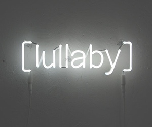 lullaby, light, and neon image