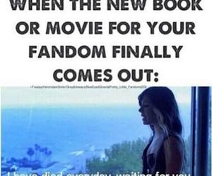 book, fandom, and movie image