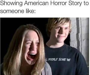funny, violet, and ahs image