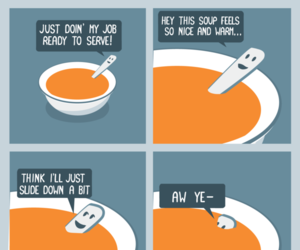 funny, spoon, and lol image