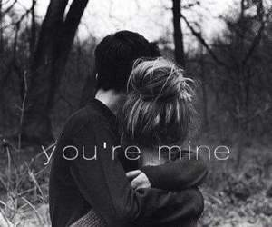 couple, I Love You, and your mine image