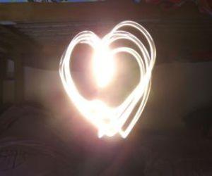 light, love, and lightpaint image