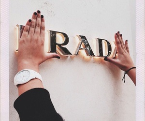 Prada, rad, and fashion image
