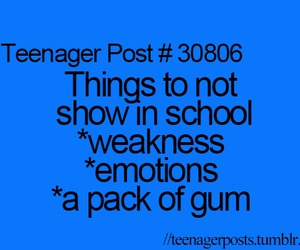 school, true, and funny image