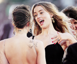 amber heard and dakota johnson image