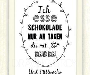 chocolate, deutsch, and german image