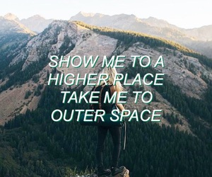 grunge, Lyrics, and space image