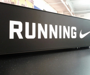 running, nike, and fit image