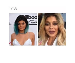 lol, OMG, and kylie jenner image
