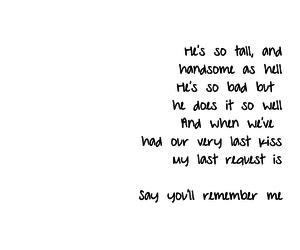 Lyrics, song, and Taylor Swift image