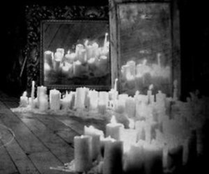 mirror and candles image