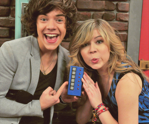 Harry Styles, one direction, and icarly image