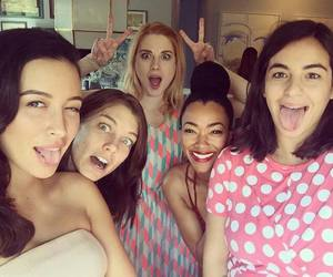 lauren cohan, alanna masterson, and the walking dead image