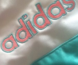 adidas, pink, and pastel image