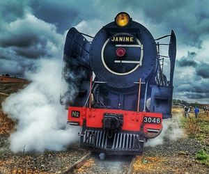 engine, south africa, and steam image