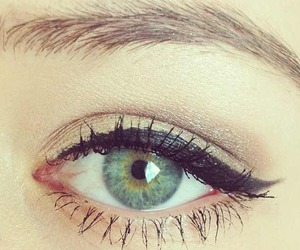 eye, make up, and makeup image