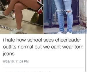cheerleader and school image